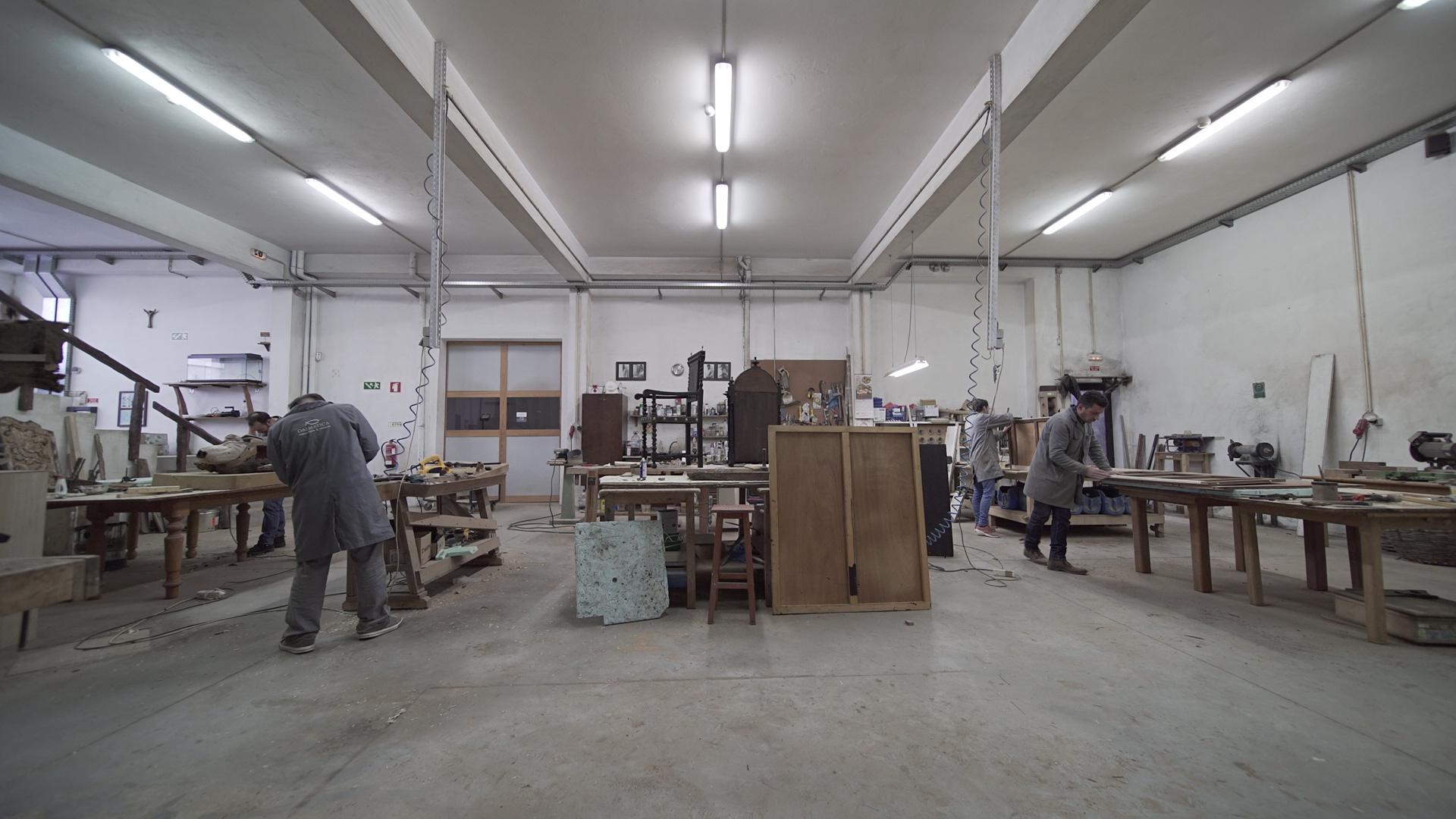 Empresa especializada em conservação e restauro do património